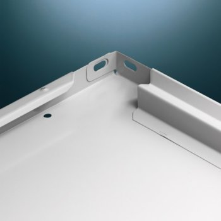 Regalboden L80,Tiefe: 500 mm Fachlast 80 kg, lichtgrau