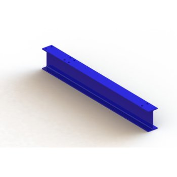 Ständerfuß MEDIUM IPE 140 für META MULTISTRONG, Einfachfuß 800 mm