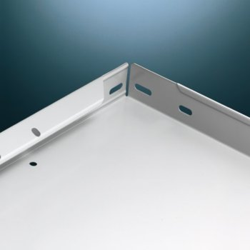 Regalboden Standard 100, Fachlast 100 kg, lichtgrau, L: 1000 x T: 500 mm