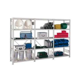 Bestellvorschlag META Steckregal CLIP 100, H: 2500 x L: 3000 x T: 500 mm, einzeilig