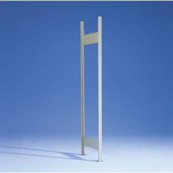 META CLIP Offener Rahmen RAL 7035, 2500 x 500 mm