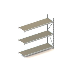 Weitspannregal META MINI-RACK® AR, Spanplatten, H 2200 x L 2200 x T 650 mm